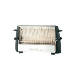 Moulinex - Multipan On Off tostadora 4 rebanada(s) Negro, Acero inoxidable 760 W
