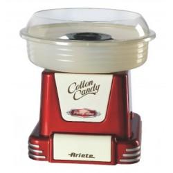Ariete - Cotton Candy Party Time algodonera de azúcar 450 W Beige, Rojo