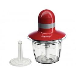 Bosch - MMR08R2 picadora eléctrica de alimentos 0,8 L Gris, Rojo 400 W