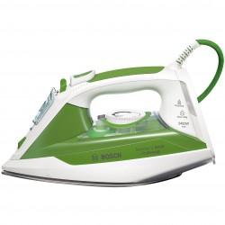 Bosch - TDA302401E plancha Plancha vapor-seco Suela de Ceranium Verde, Blanco 2400 W