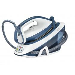 Tefal - Liberty SV7030 estación plancha al vapor 2200 W 1,5 L Suela de cerámica Azul, Blanco