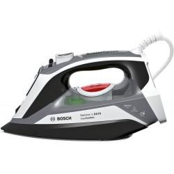 Bosch - TDA70EASY plancha Plancha vapor-seco Suela Ceranium Glissée Negro, Blanco 2400 W