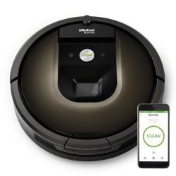 iRobot - Roomba 980 aspiradora robotizada Sin bolsa Negro, Chocolate