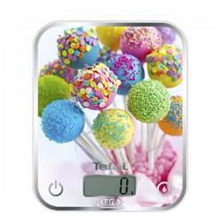 Tefal - Optiss Báscula electrónica de cocina Multicolor Mesa Rectángulo