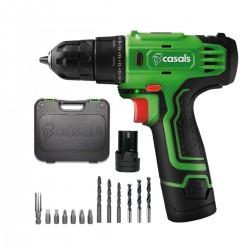 Casals - VDLI12M-2 Sin llave Negro, Verde 750 RPM 1 kg