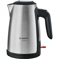 Bosch - TWK6A813 tetera eléctrica 1,7 L Negro, Acero inoxidable 2400 W