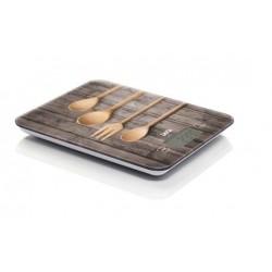 Laica - KS5010 báscula de cocina Báscula electrónica de cocina Multicolor Mesa Rectángulo