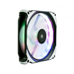 UNYKAch - Candy 10 Carcasa del ordenador Enfriador 12 cm Negro, Transparente