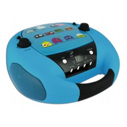 Bigben Interactive - CD52OIZO sistema estéreo portátil Analógica Negro, Azul
