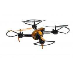 Denver Electronics - DCW-360 dron con cámara Cuadricóptero Negro, Naranja 4 rotores 0,3 MP 1000 mAh