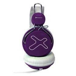 Phoenix Technologies - 720 Air Diadema Binaurale Alámbrico Púrpura auriculares para móvil