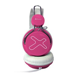 Phoenix Technologies - 720 Air Diadema Binaural Alámbrico Rosa auriculares para móvil