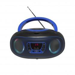 Denver Electronics - TCL-212BT BLUE reproductor de CD Reproductor de CD portátil Negro, Azul