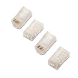 AISENS - A139-0297 conector RJ-45 Transparente