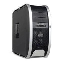 Phoenix Technologies - PH3806 Escritorio Negro, Plata carcasa de ordenador