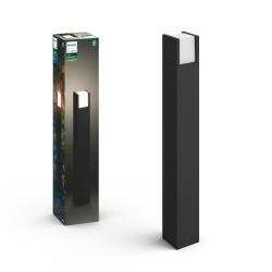 Philips by Signify - Hue White Lámpara de poste para exteriores Fuzo