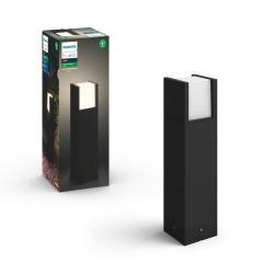 Philips by Signify - Hue White Lámpara de pedestal para exteriores Fuzo