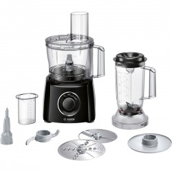 Bosch - MCM3201B robot de cocina 2,3 L Negro, Transparente 800 W