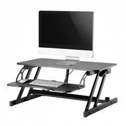 Newstar - NS-WS200BLACK estacion de trabajo sentado o de pie