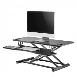 Newstar - NS-WS300BLACK estacion de trabajo sentado o de pie