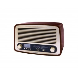 Sunstech - RPR4000 radio Personal Analógica Madera
