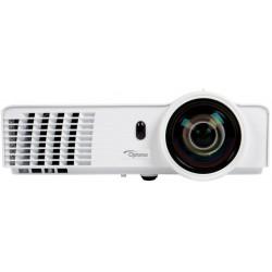 Optoma - W305ST Proyector para escritorio 3200lúmenes ANSI DLP WXGA (1280x800) 3D Blanco videoproyector