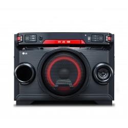 LG - OK45 Minicadena de música para uso doméstico Negro, Rojo 220 W