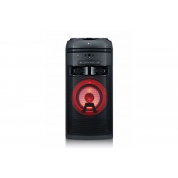 LG - OK55 Home audio tower system Negro 700 W