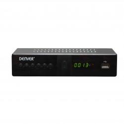 Denver Electronics - DTB-138 tV set-top boxes Negro