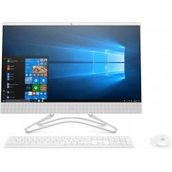"HP - 24 -f1005ns 60,5 cm (23.8"") 1920 x 1080 Pixeles AMD Ryzen 5 3500U 8 GB DDR4-SDRAM 256 GB SSD Blanco PC todo en"