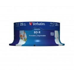 Verbatim - 43811 disco blu-ray lectura/escritura (BD) BD-R 25 GB 25 pieza(s)