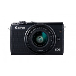 Canon - EOS M100 MILC 24,2 MP CMOS 6000 x 4000 Pixeles Negro