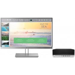 HP - ProDesk 600 G3 SFF + EliteDisplay E233 7ª generación de procesadores Intel® Core™ i5 i5-7500 8 GB DDR4-SDRAM 2
