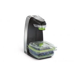 FoodSaver - FFS010X sellador al vacío Negro, Plata