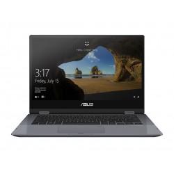 "ASUS - VivoBook Flip TP412FA-EC015T Gris Híbrido (2-en-1) 35,6 cm (14"") 1920 x 1080 Pixeles Pantalla táctil 8ª generación de pro"