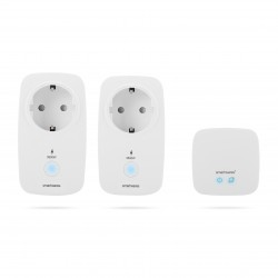 Smartwares - SH8-99901 Set enchufes y conector