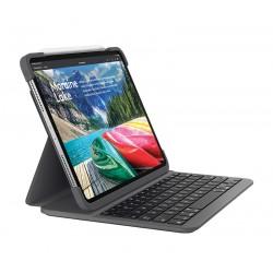 Logitech - SLIM FOLIO PRO teclado para móvil QWERTY Español Grafito Bluetooth - 920-009151