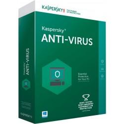 Kaspersky Lab - Anti-Virus Licencia básica 1 licencia(s) 1 año(s) Plurilingüe - KL1171SCAFS