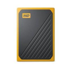 Western Digital - My Passport Go 500 GB Negro, Amarillo