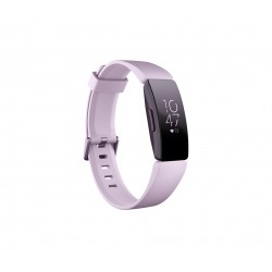 Fitbit - Inspire HR Pulsera de actividad Negro, Lila OLED
