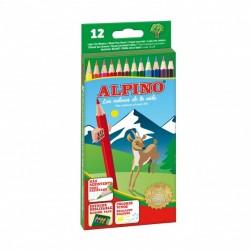 Alpino - AL010654 laápiz de color 12 pieza(s) Multicolor