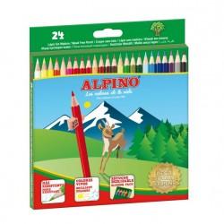 Alpino - AL010658 laápiz de color 24 pieza(s) Multicolor