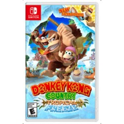 Nintendo - Donkey Kong Country: Tropical Freeze vídeo juego Nintendo Switch Básico Plurilingüe