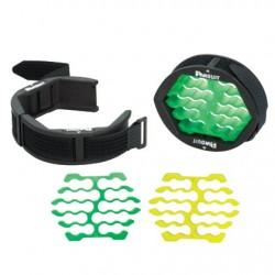 Panduit - CBOT24K abrazadera para cable Negro, Verde, Amarillo