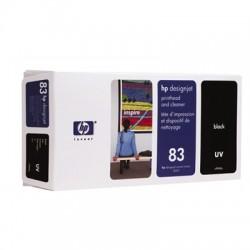 HP - Limpiador de cabezales de impresión y cabezal de impresión UV DesignJet 83 negro