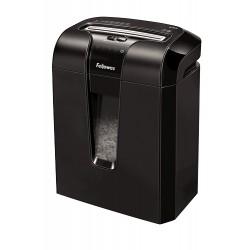 Fellowes - 63Cb triturador de papel Corte cruzado 23 cm Negro