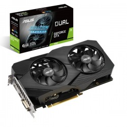ASUS - Dual -GTX1660-O6G EVO GeForce GTX 1660 6 GB GDDR5