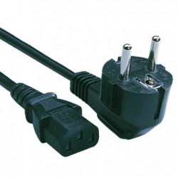 Cisco - AC 16 AWG cable de transmisión Negro 0,3048 m