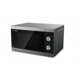 Sharp Home Appliances - YC-MG01E-S microondas Encimera Microondas combinado 20 L 800 W Negro, Gris
