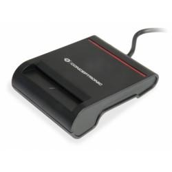 Conceptronic - SCR01B lector de tarjeta inteligente Negro USB 2.0